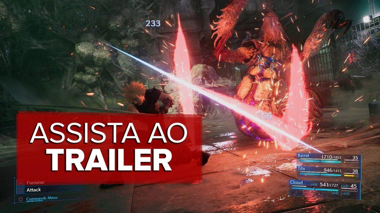 Trailer de 'Final fantasy VII