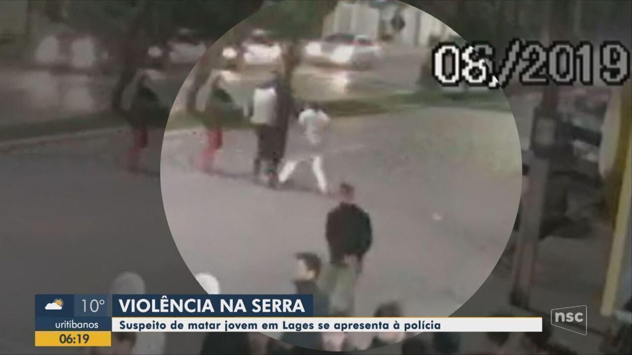 Homem é preso suspeito de esfaquear e matar homem durante briga em Lages