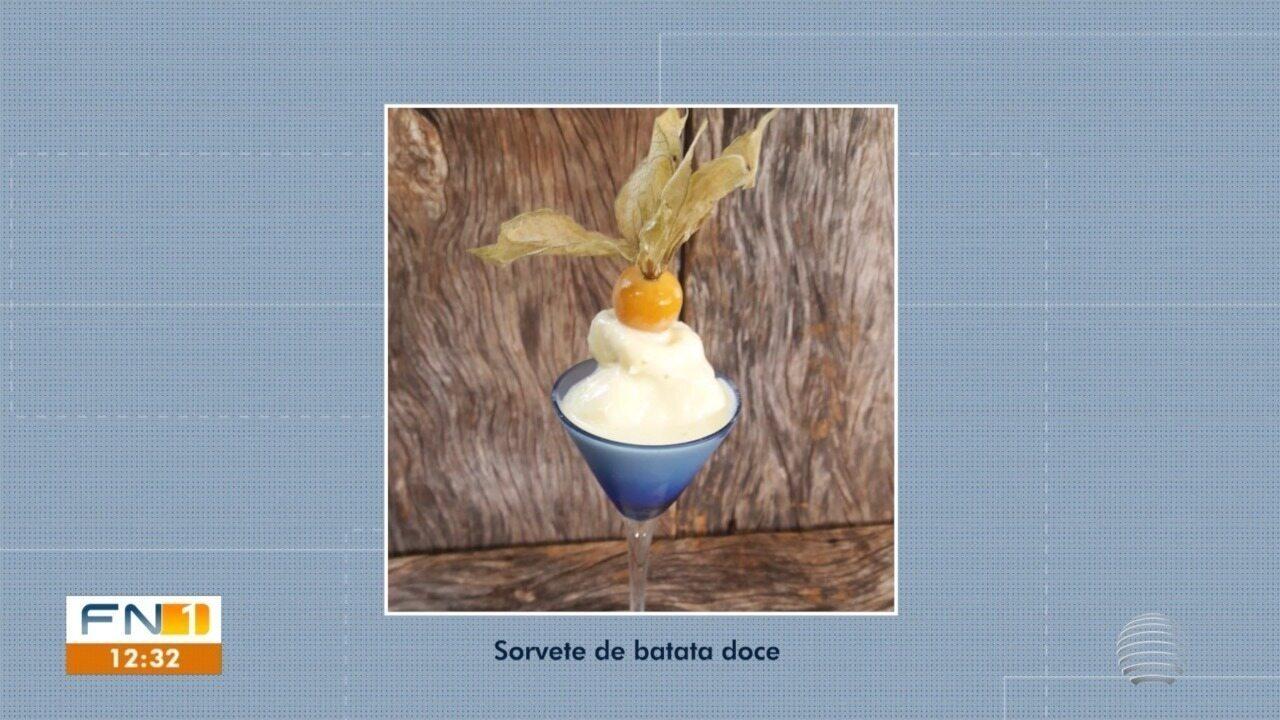 Sorvete de Batata-doce participa da etapa final do Concurso #Receitando
