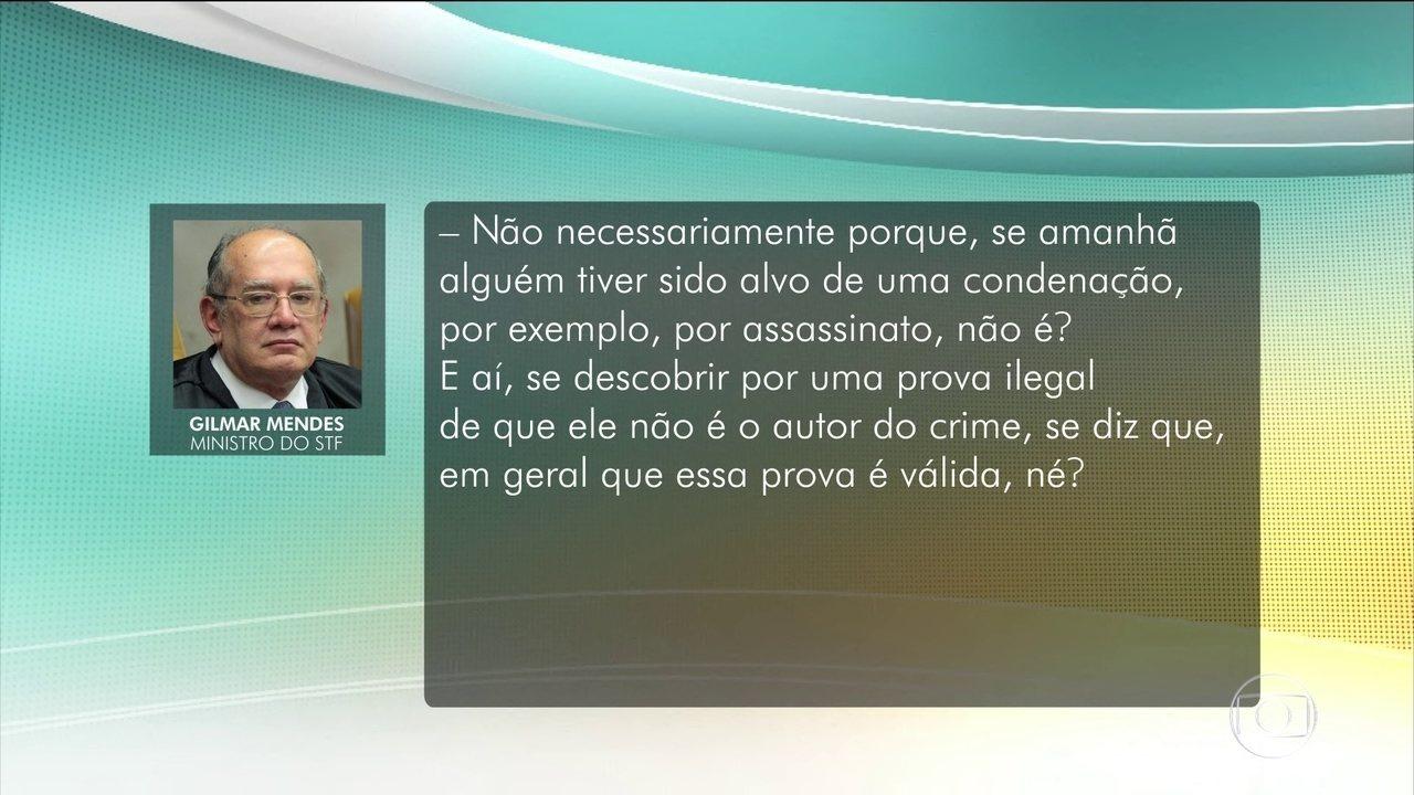 Ministros do STF comentam a divulgação de mensagens entre Moro e procuradores