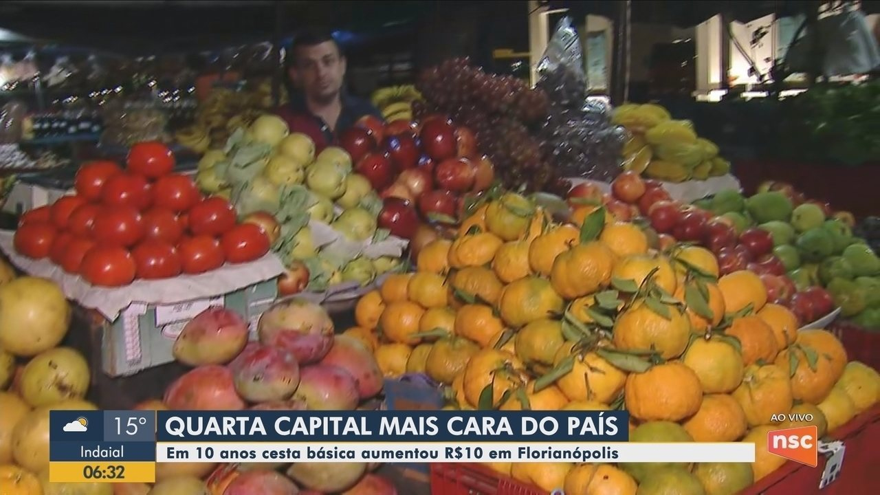 BDSC dá dicas sobre como economizar na feira em Florianópolis