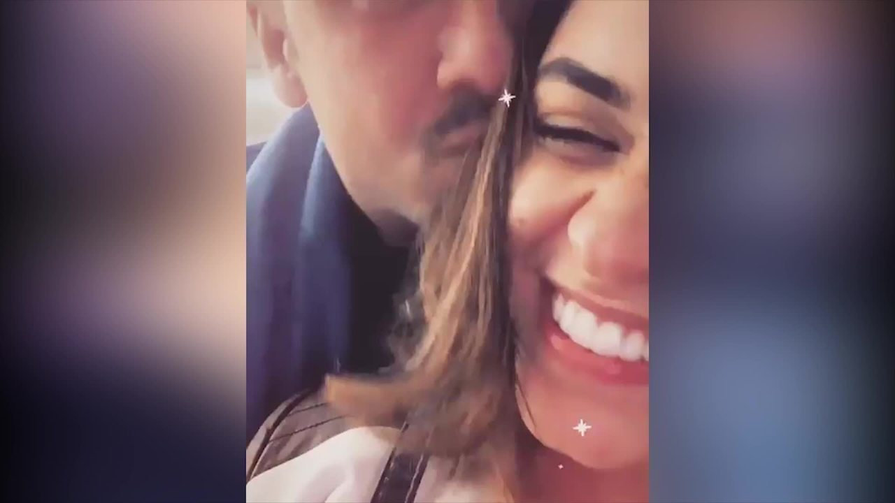 Talita Younan mostra momento carinhoso com Matheus Braga