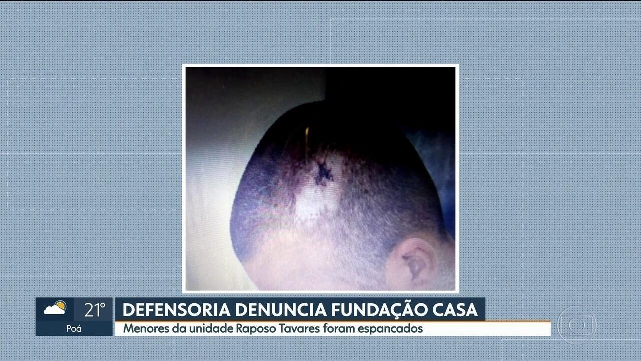 Defensoria Pública denuncia Fundação casa por tortura