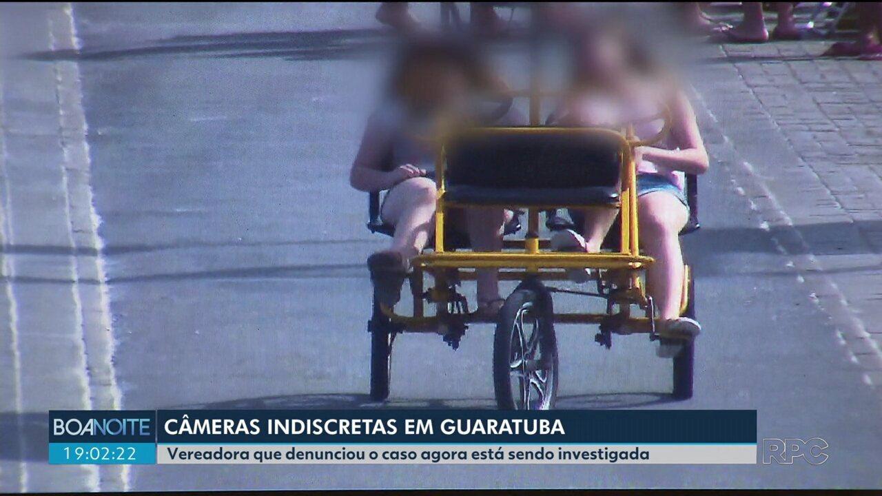 Vereadora que denunciou o mal uso das câmeras de segurança na praia está sendo investigada