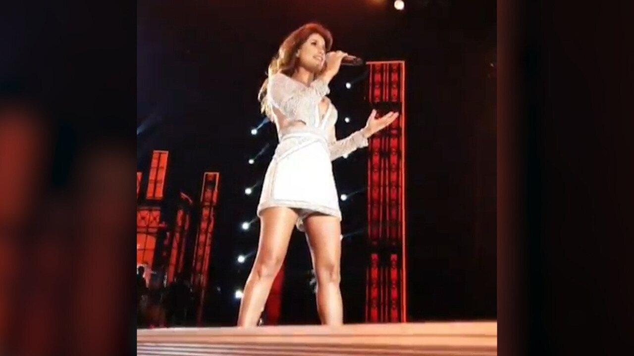 Paula Fernandes grava DVD e canta 'Juntos'