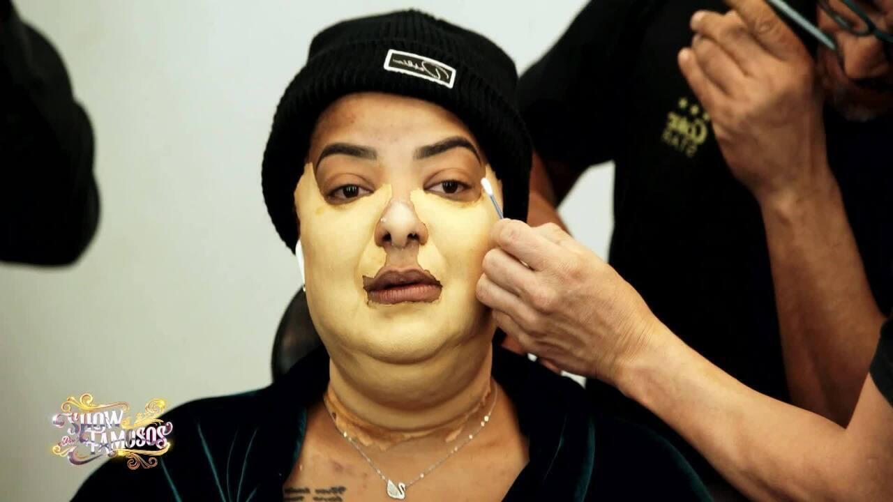 Veja a preparação de Ludmilla para homenagear Nana Caymmi no 'Show dos Famosos'