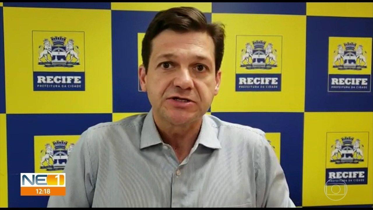 Prefeitura do Recife busca minimizar transtornos causados pelas chuvas