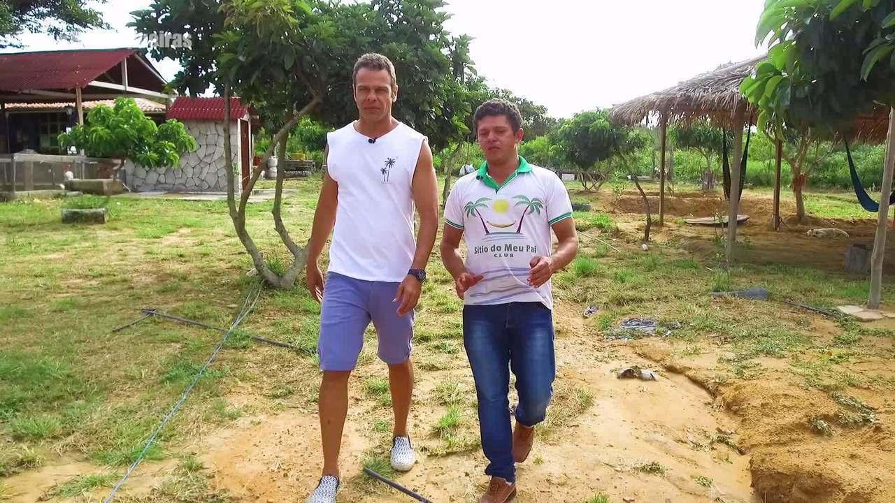 Tep Rodrigues visita o