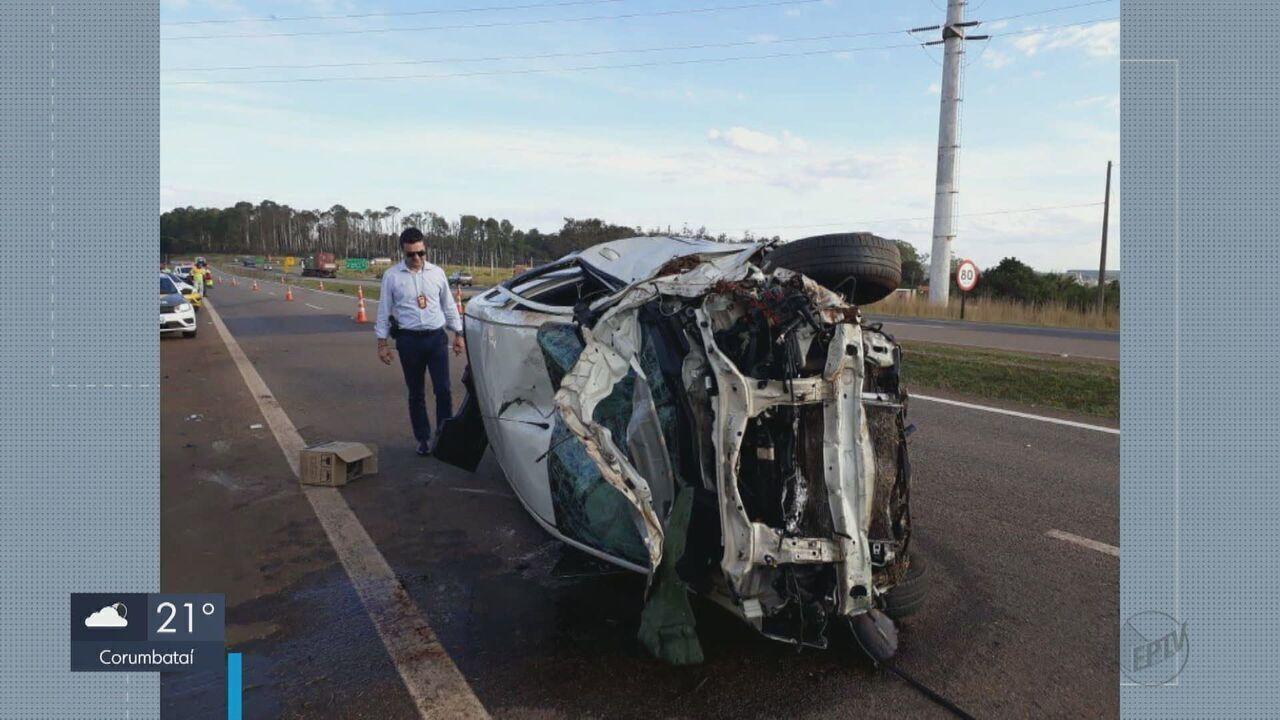 Duas mulheres morrem em acidente na Rodovia SP-340, em Casa Branca