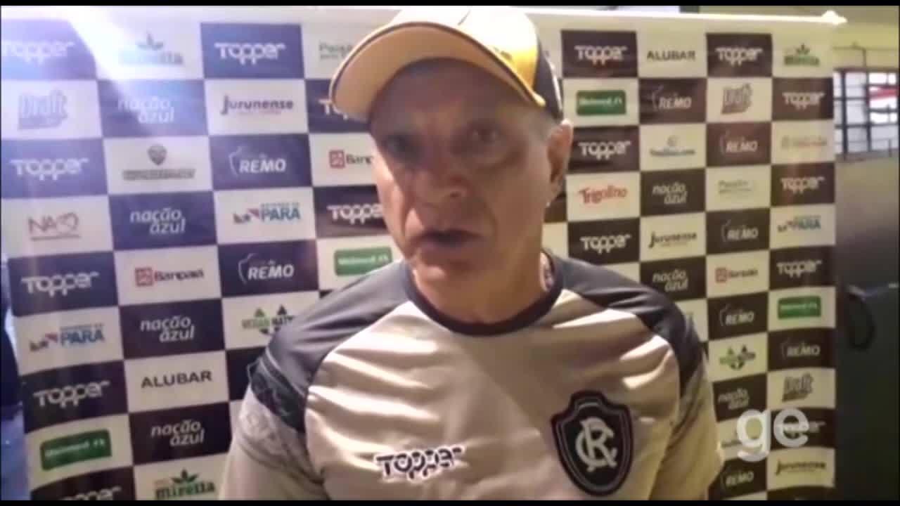 Veja o vídeo cedido pela assessoria de comunicação do Remo após o jogo em Porto Alegre