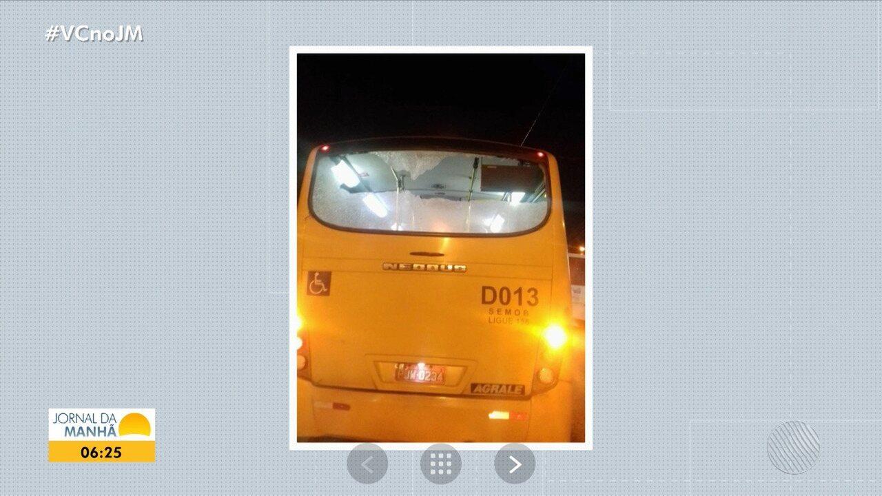 Ônibus do Sistema Complementar são apedrejados em Salvador