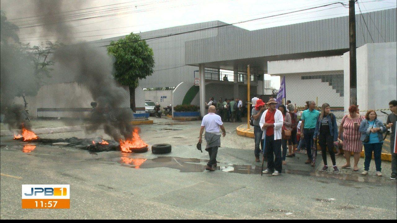 Manhã de protesto contra a Reforma da Previdência em João Pessoa