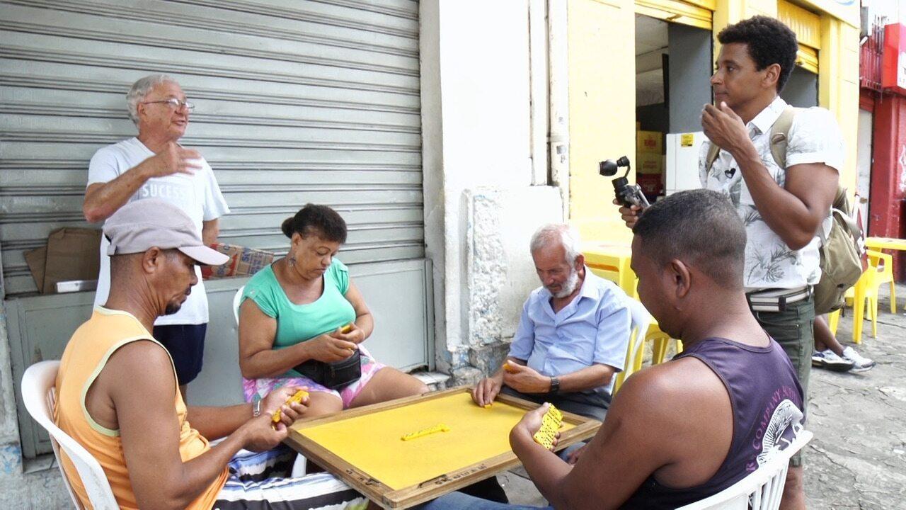 No 'Vumbora', Aldri Anunciação conhece comércios tradicionais do Campo Grande