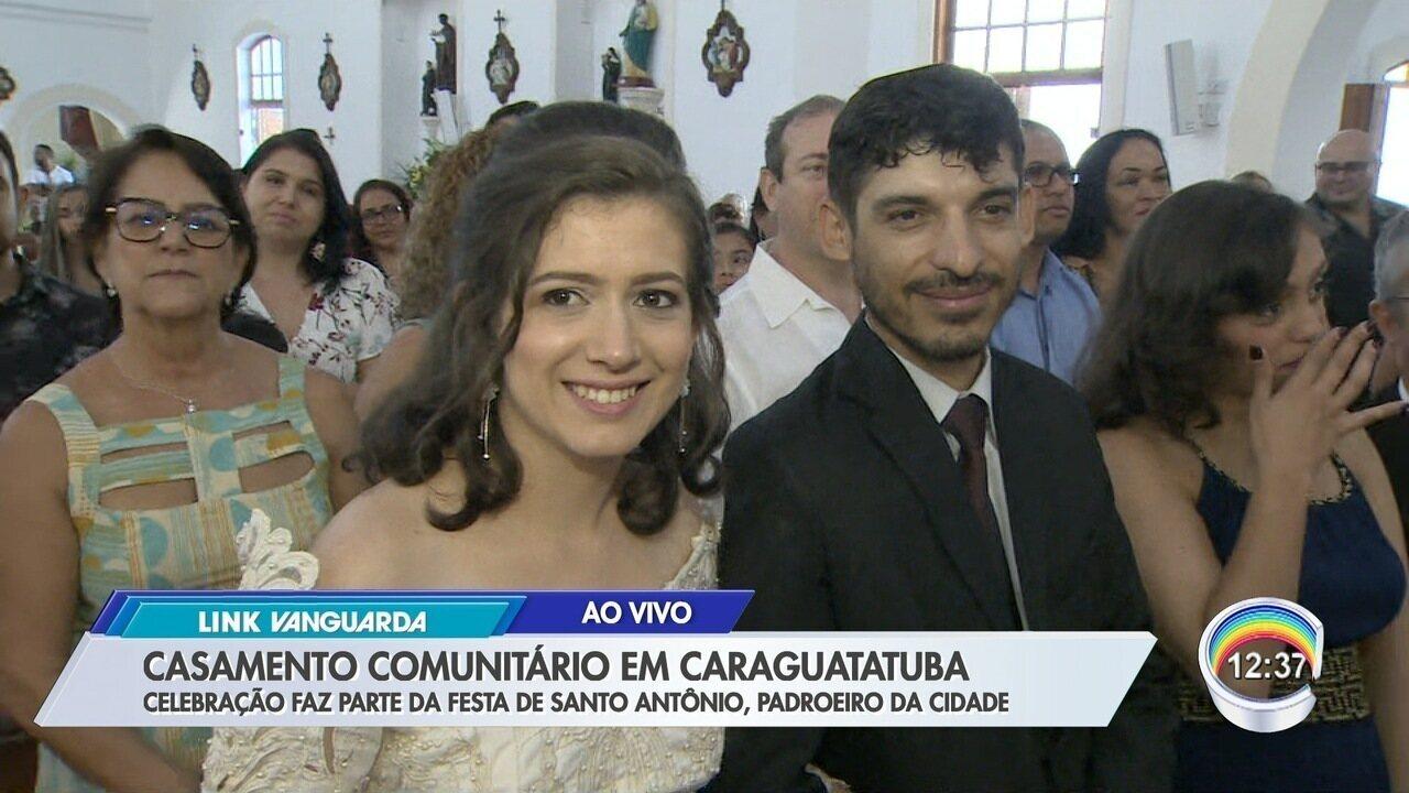 Caraguatatuba tem casamento comunitário