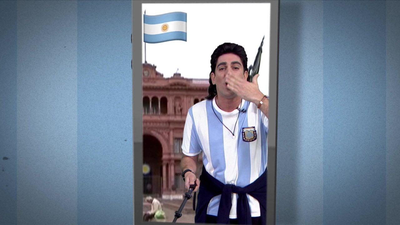 Soy Loco por Copa América: Marcelo Adnet apresenta torcedor argentino