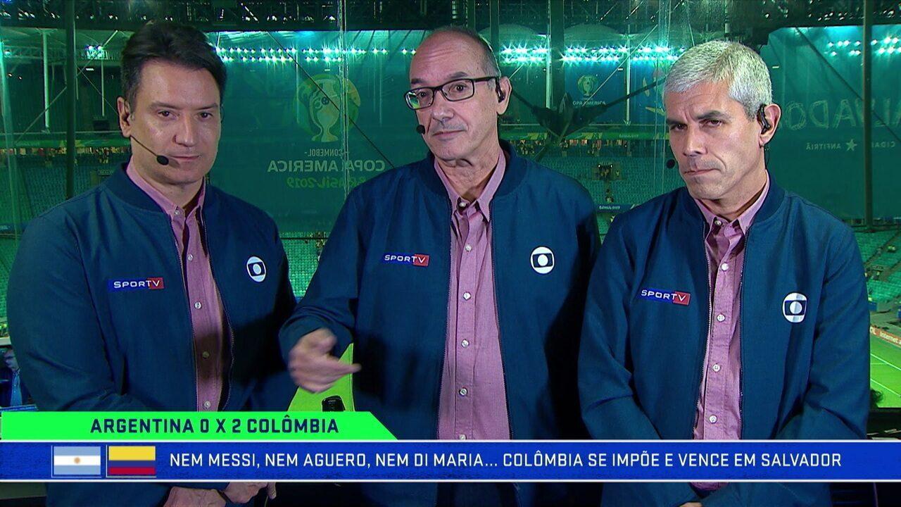 Lédio Carmona diz que Argentina sofre muito falta de criação no meio de campo