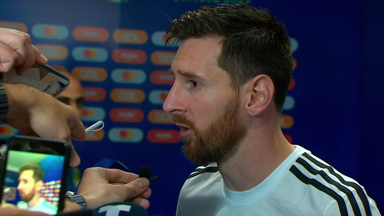 Messi explica derrota na estreia da Copa América para a Argentina