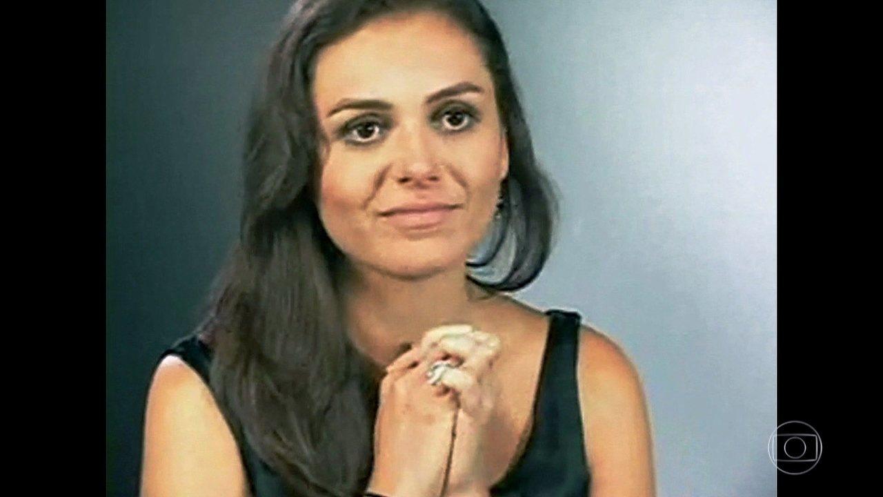 Serginho mostra primeiro teste de Monica Iozzi na Globo