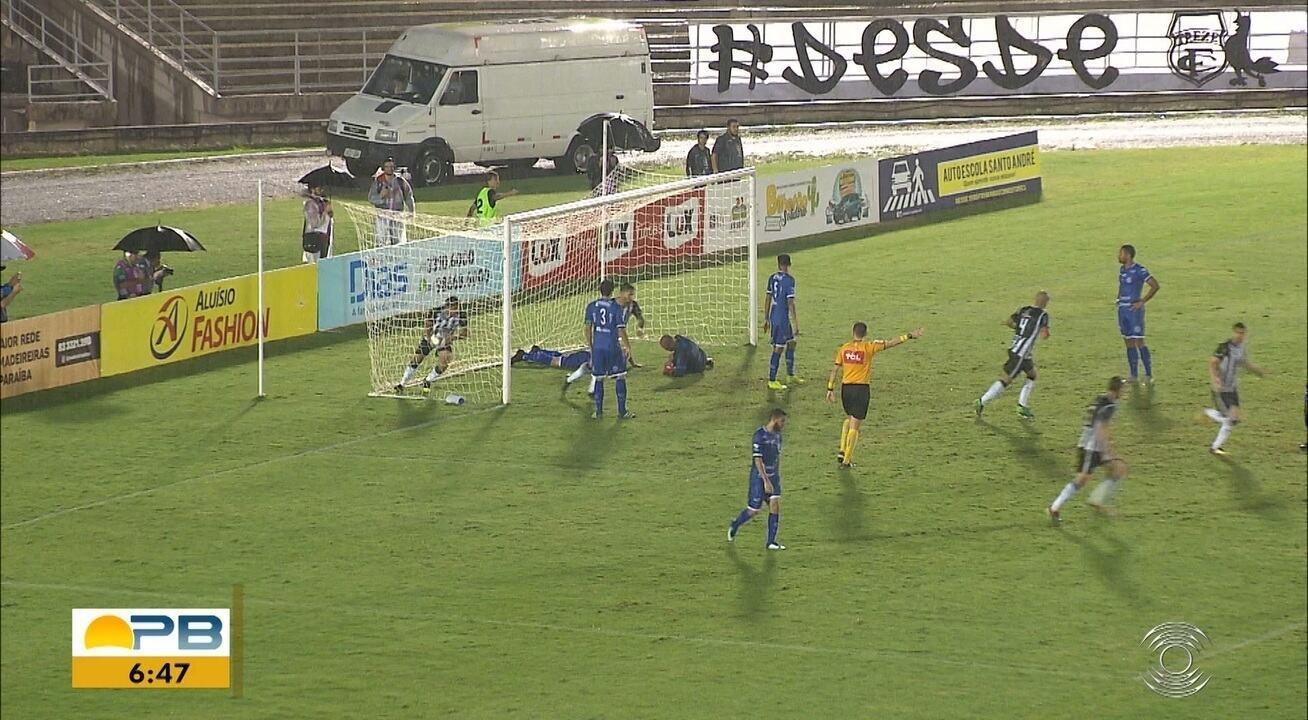 Veja os gols da vitória do Confiança por 3 a 1 sobre o Treze em pleno Amigão