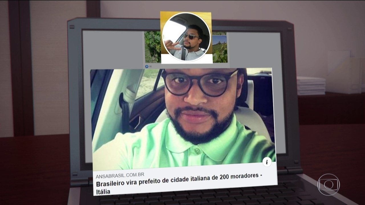 Adotado por família italiana, brasileiro se torna prefeito na Itália