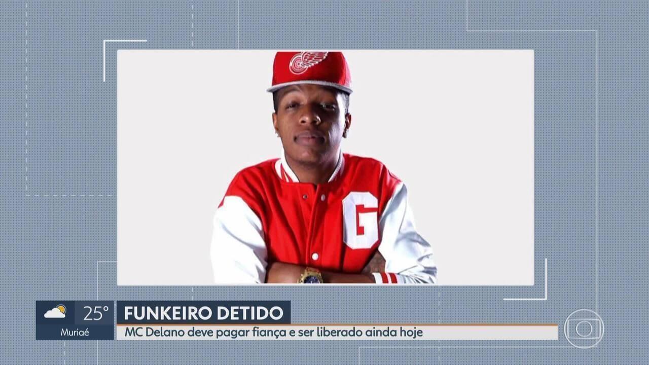 MC Delano consegue alvará de soltura sob fiança em Belo Horizonte