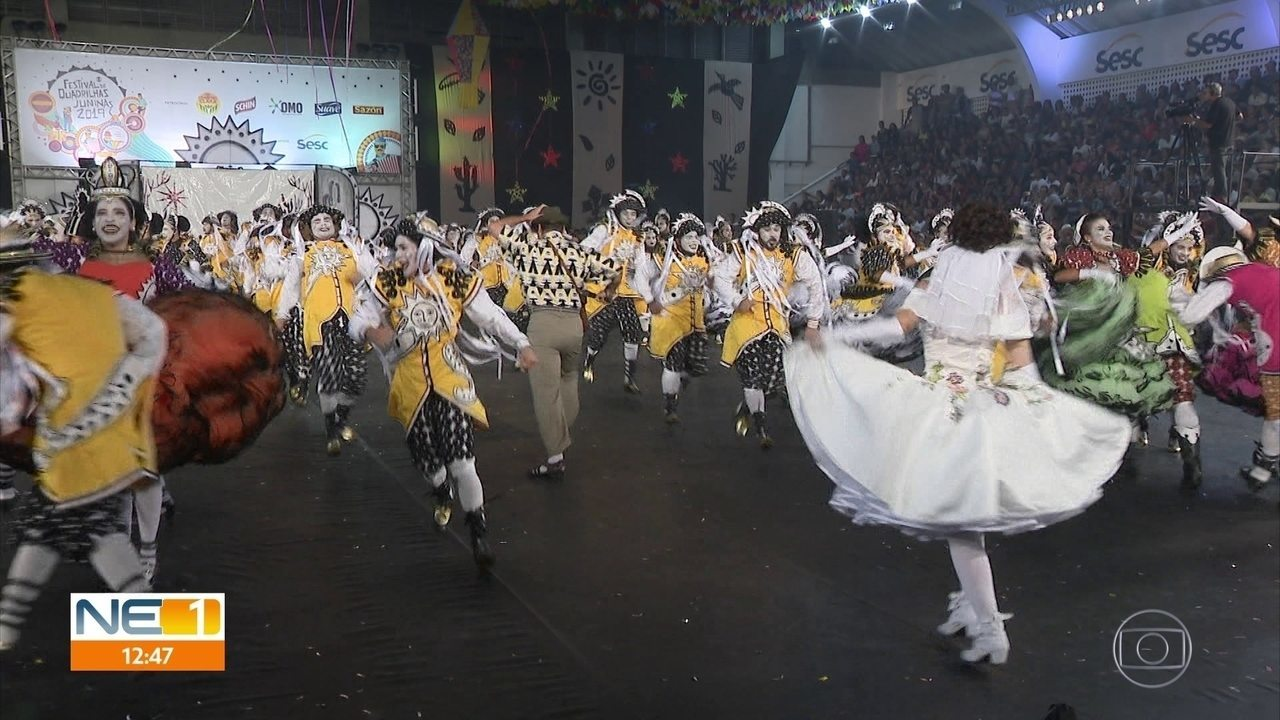 Dona Matuta vence etapa estadual do Festival de Quadrilhas Juninas da Globo