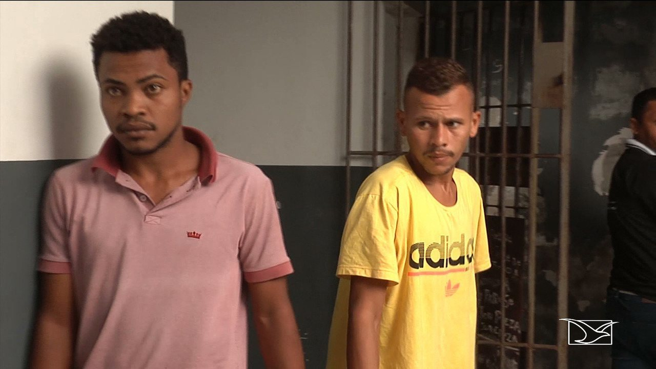 Polícia prende dois homens suspeitos de praticar assaltos em Codó