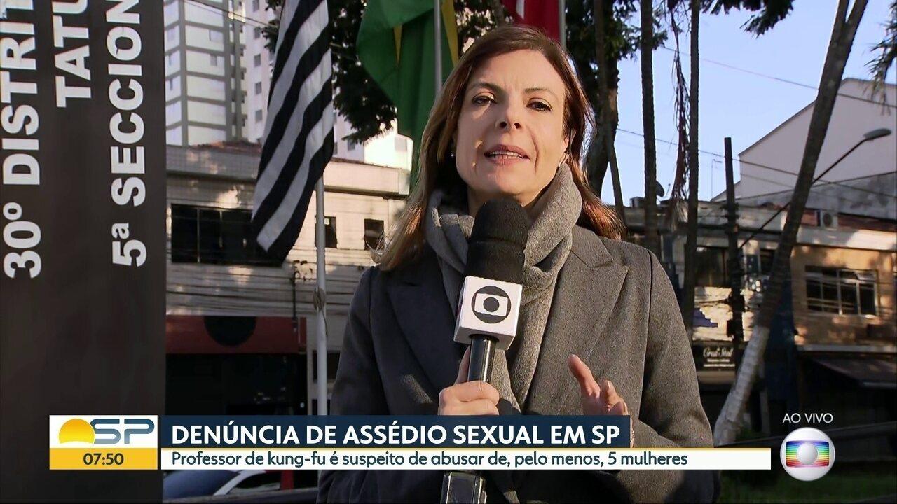Denúncia de assédio sexual em SP