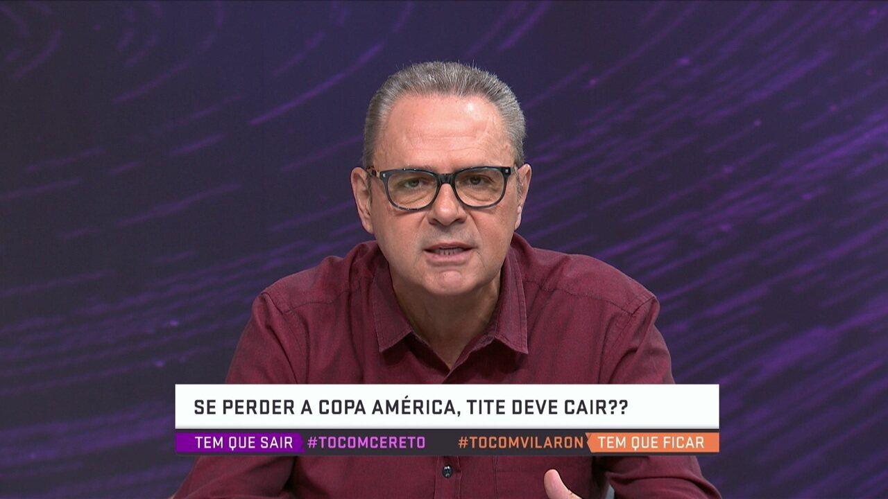 """Luís Roberto sobre Seleção Brasileira: """"Pela primeira vez estamos em uma competição oficial sem um craque"""""""