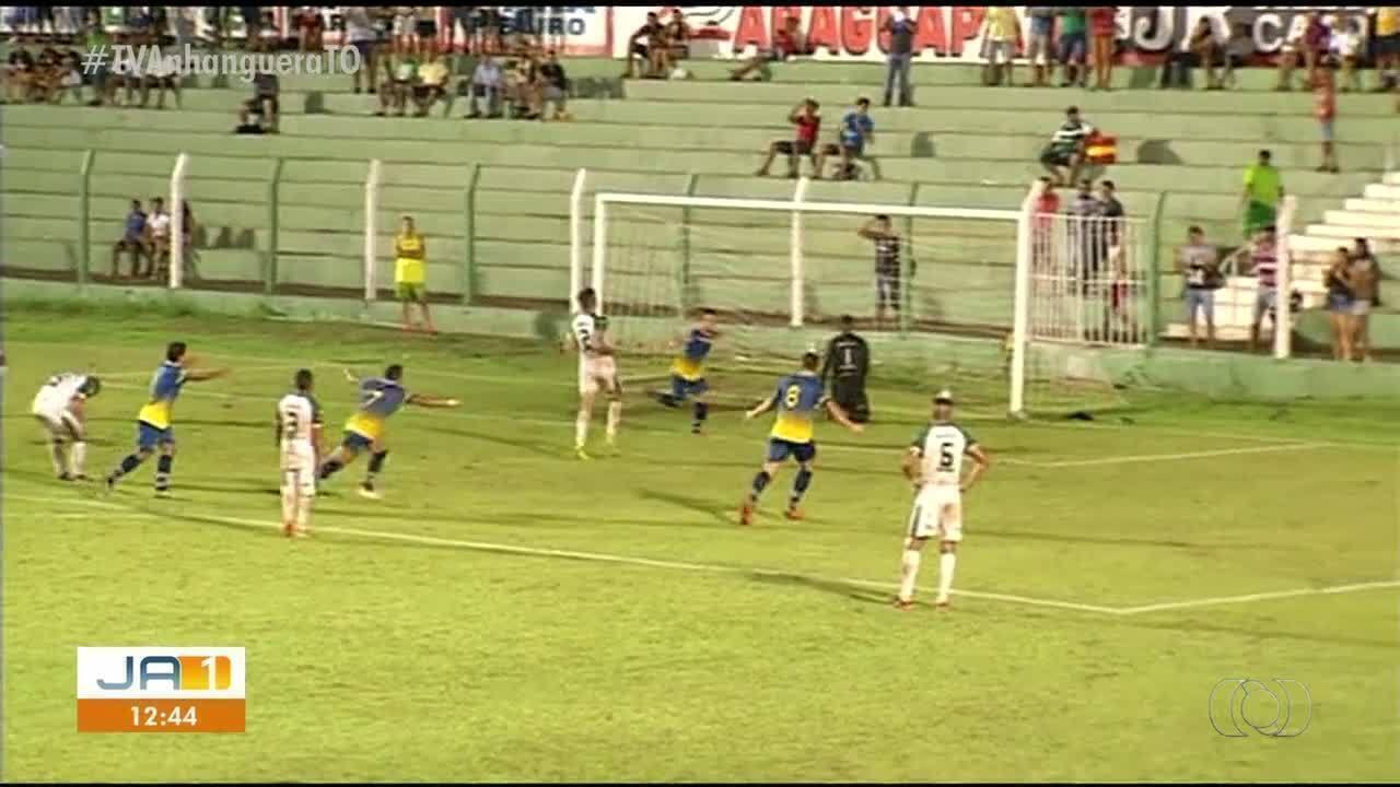 Palmas vence o Tocantinópolis no primeiro jogo das finais do Tocantinense