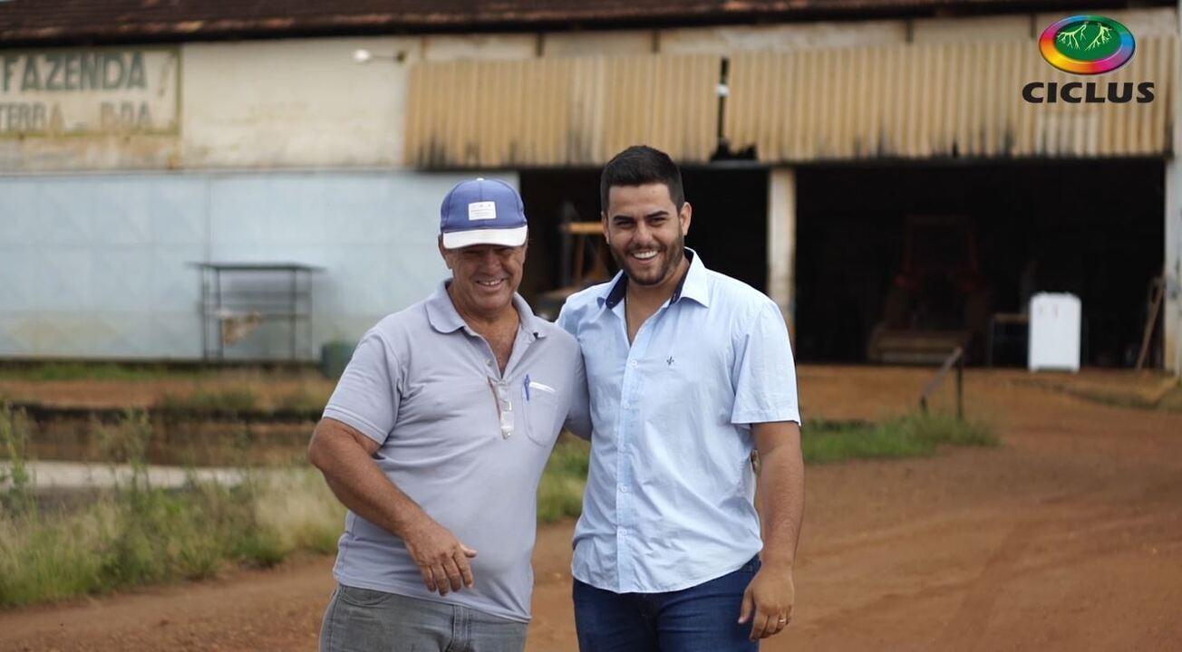 Depoimentos de pai e filho, Abel Soares Pereira e Vitor Pereira, cafeicultores de Coromandel_MG