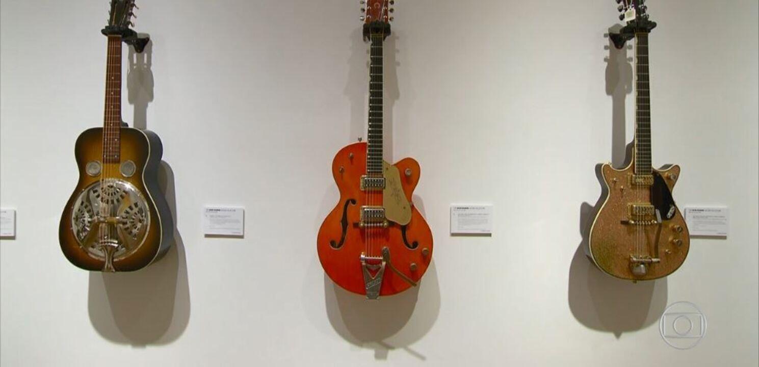 Guitarras de David Gilmour vão a leilão em Nova York