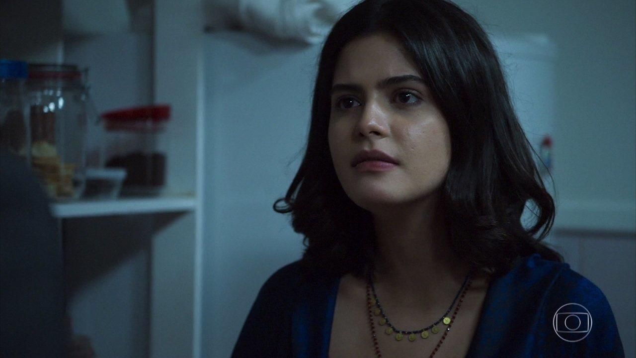 Laila questiona Jamil sobre Dalila/Basma