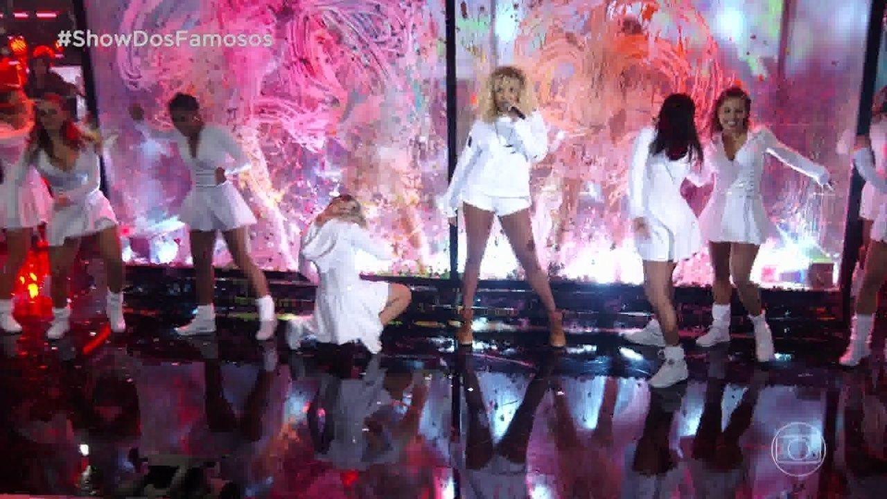 Reveja! Ludmilla homenageia Rihanna no 'Show dos Famosos'