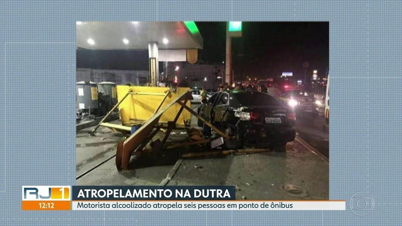 Criança atropelada em São João de Meriti está em estado grave.