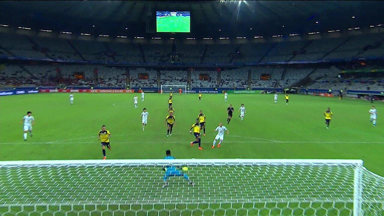 Melhores momentos: Equador 1 x 1 Japão pela Copa América