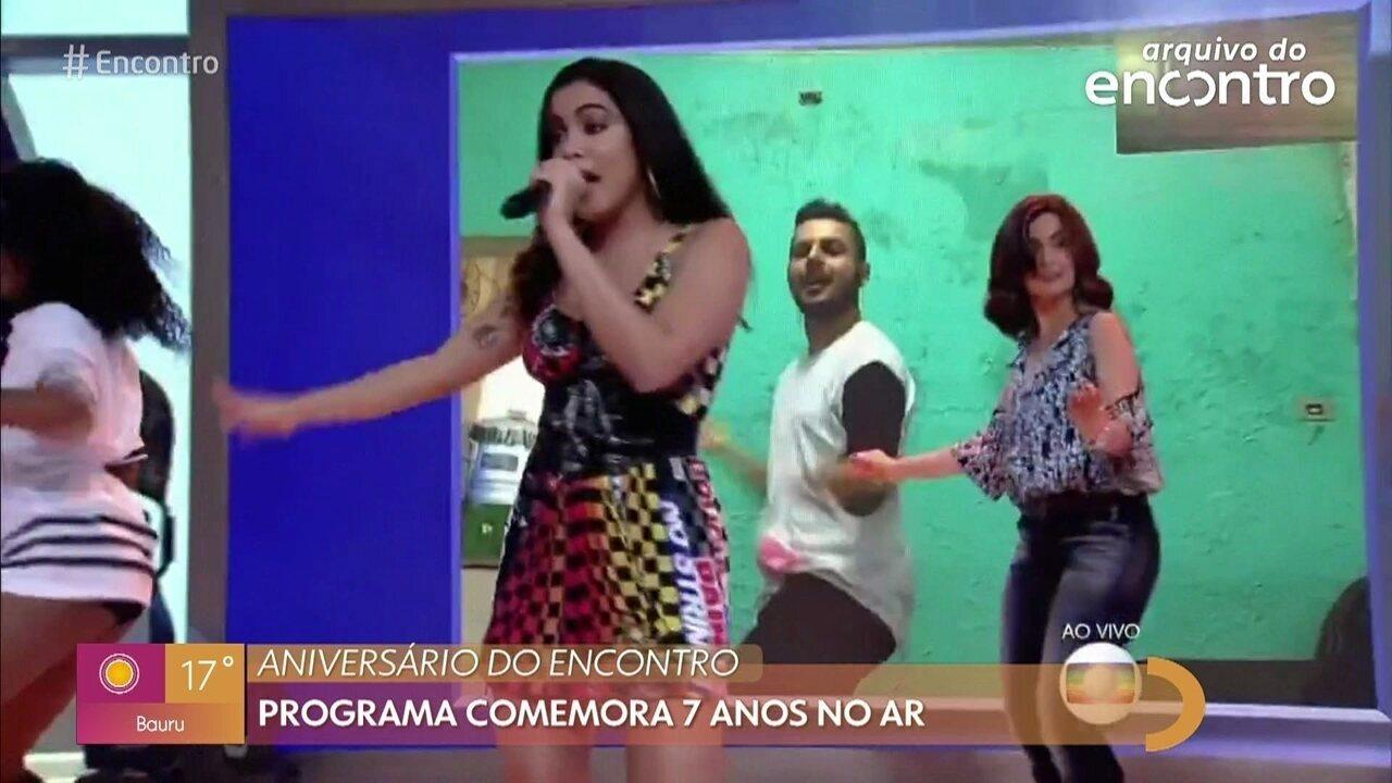 Relembre Fátima dançando pela primeira vez com Anitta