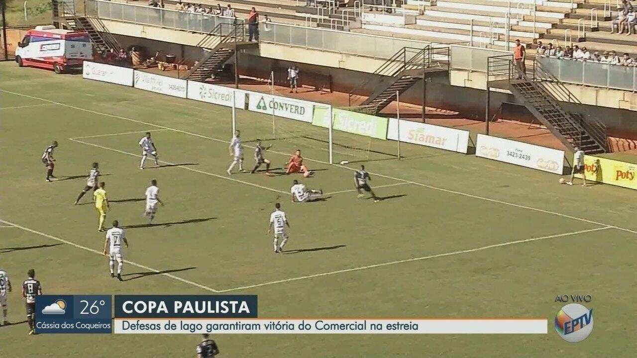 Defesa do Comercial-SP garante vitória em estreia na Copa Paulista