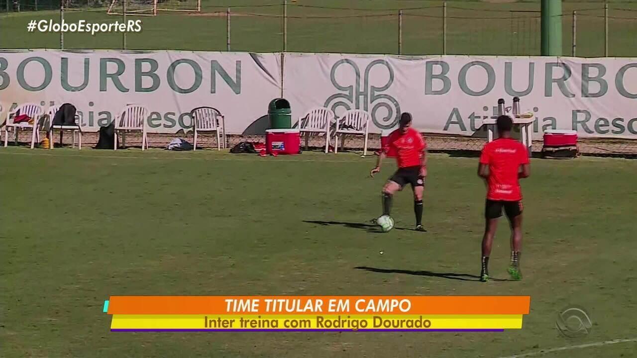 Inter treina com Rodrigo Dourado nesta terça-feira em Atibaia