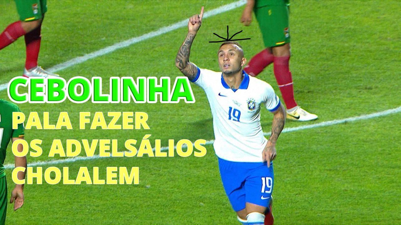 Cebolinha: raio-x do destaque da Seleção Brasileira na Copa América