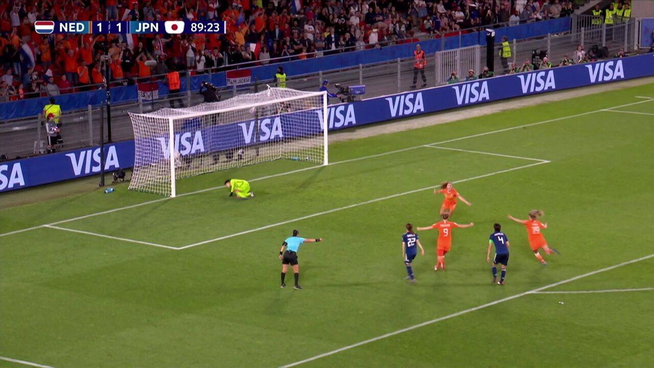 Melhores momentos de Holanda 2 x 1 Japão pela Copa do Mundo de Futebol Feminino
