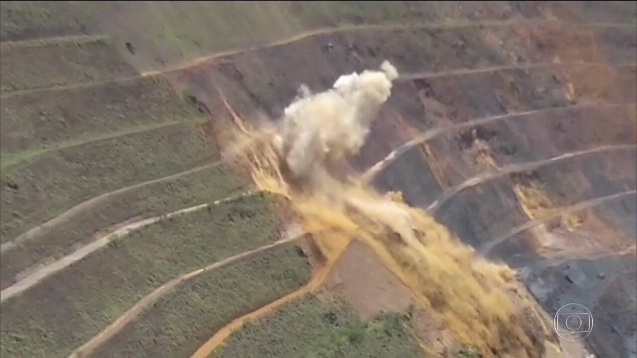 Polícia de MG investiga se uma detonação da Vale pode ter provocado tragédia em Brumadinho