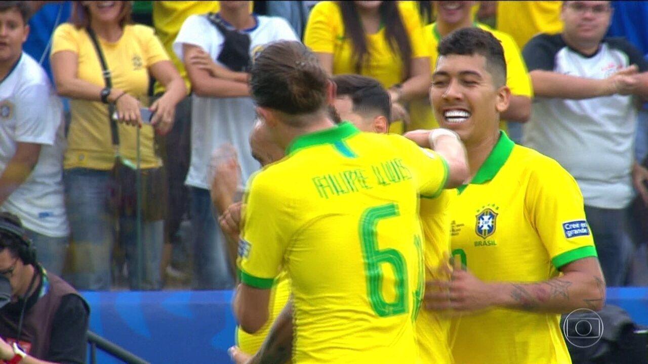 Allan será titular contra o Paraguai