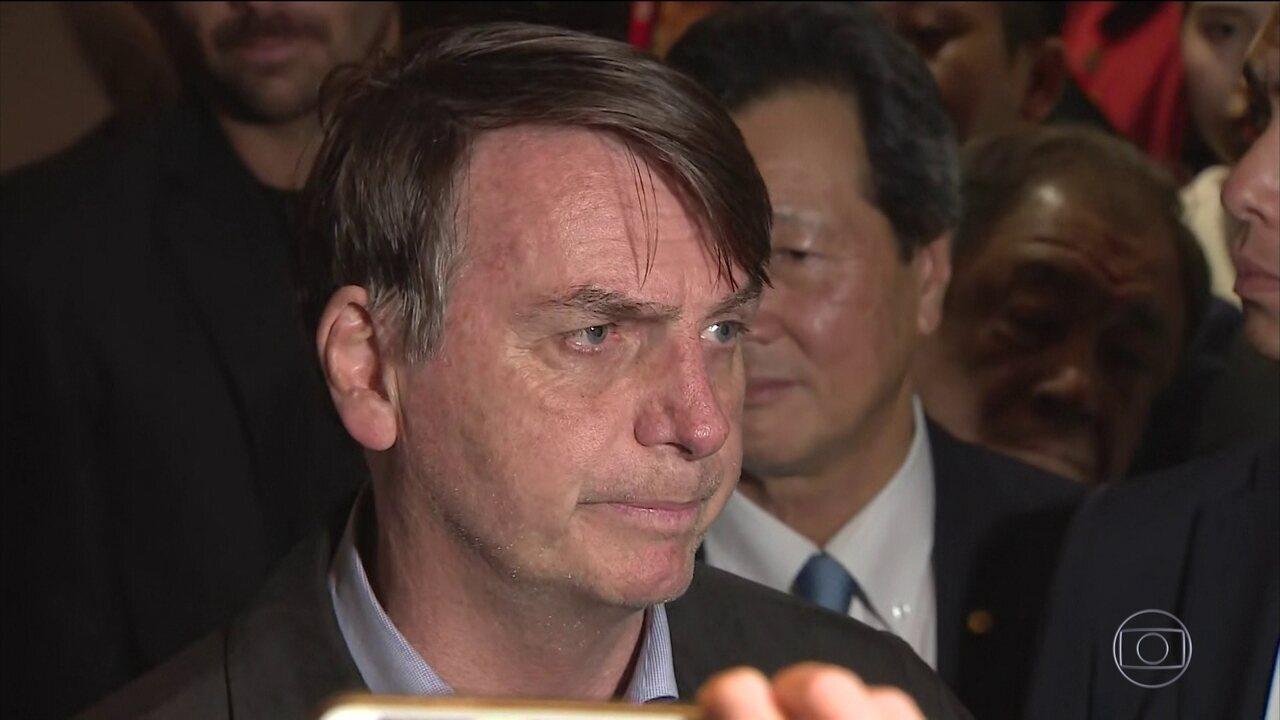 Bolsonaro chega ao G20 e diz que Alemanha tem muito o que aprender com o Brasil