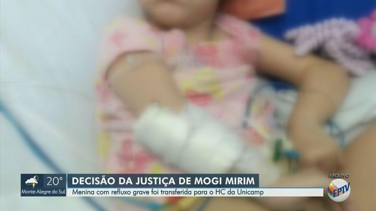 Criança foi transferida após liminar judicial