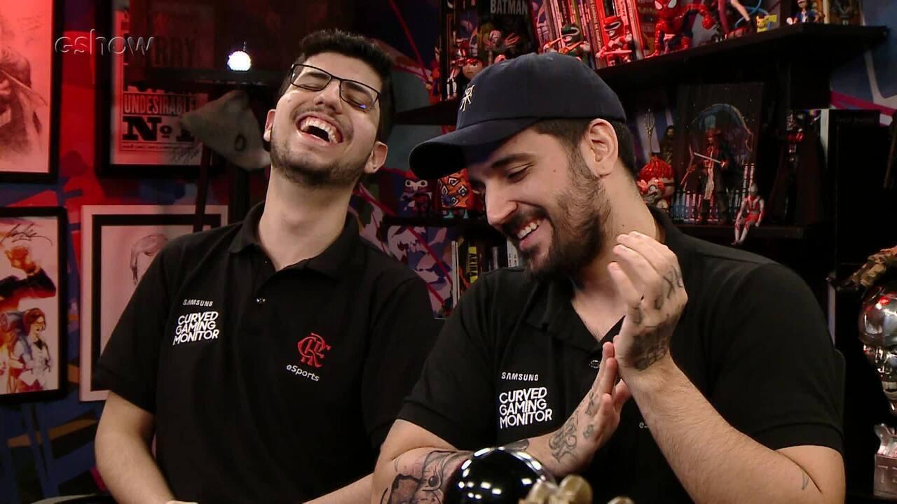 Conversa estendida de Tiago Leifert com brTT e Robo sobre a carreira de pro gamer