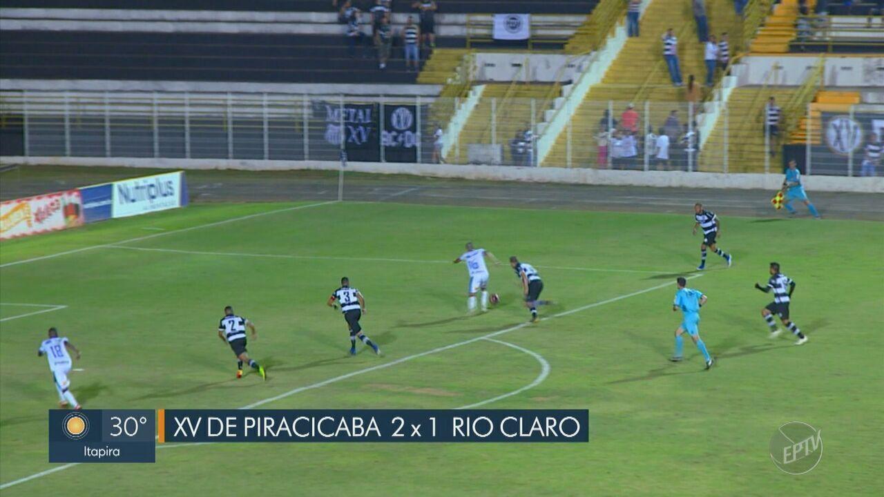 XV de Piracicaba conquista primeira vitória na Copa Paulista