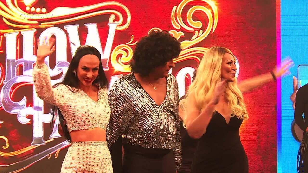 Elenco do Grupo A comenta suas apresentações da semifinal do 'Show dos Famosos'