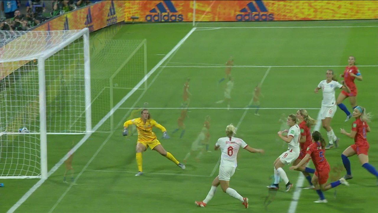 Melhores momentos: Inglaterra 1 x 2 Estados Unidos pela semifinal da Copa do Mundo Feminina