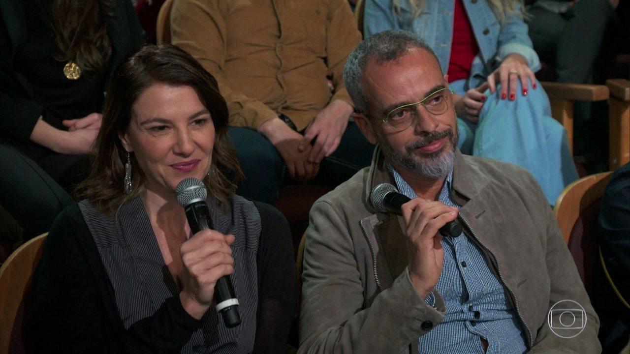 Estela Renner e Marcos Nisti falam sobre a criação de 'Aruanas'